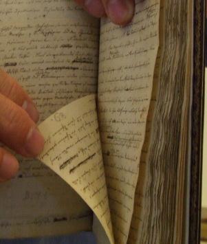 Organon, handschriftliches Original