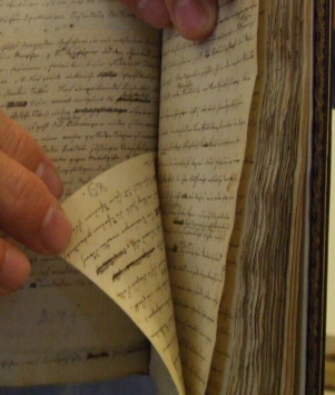 Organon handschriftlich