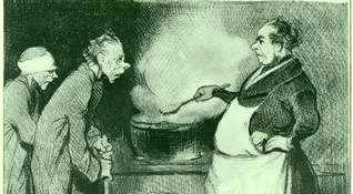 Armenküche, Daumier